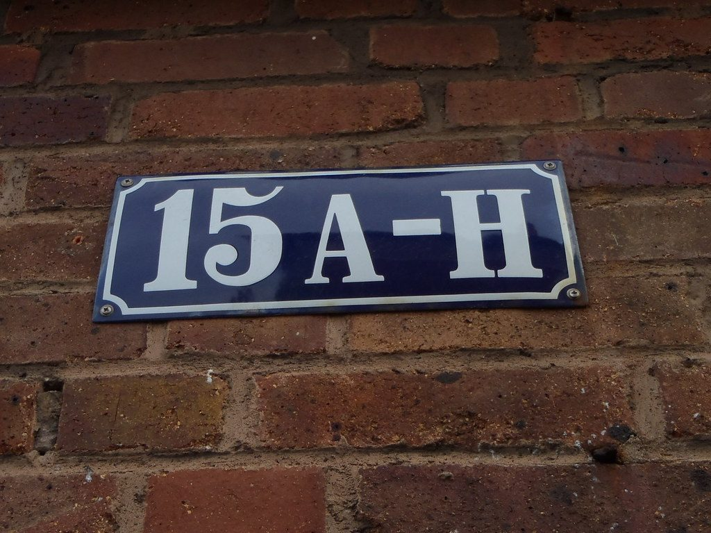 address signs Zephyrhills, FL