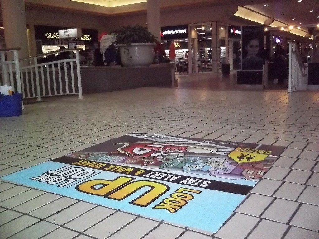 floor graphics vinyl Zephyrhills, FL
