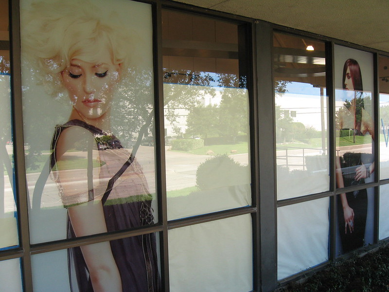 Commercial window graphics