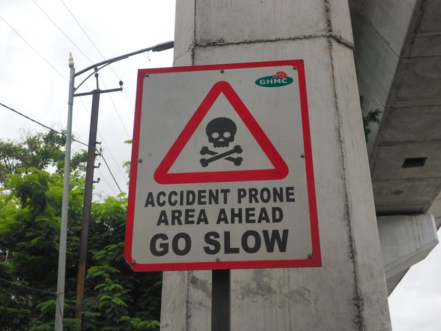 Temporary warning signage