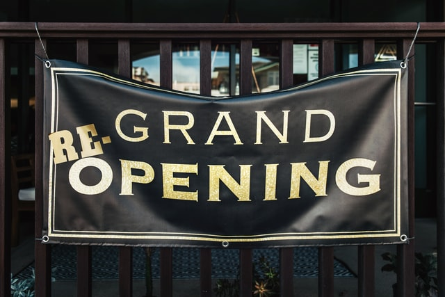 Grand Opening Vinyl Banner in Tampa, FL
