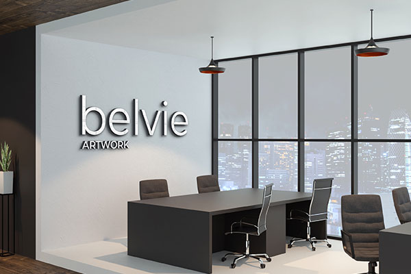 Belvie Persianized Business Signage in Tampa, FL