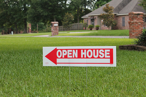 Open House Signs Made in Tampa, FL