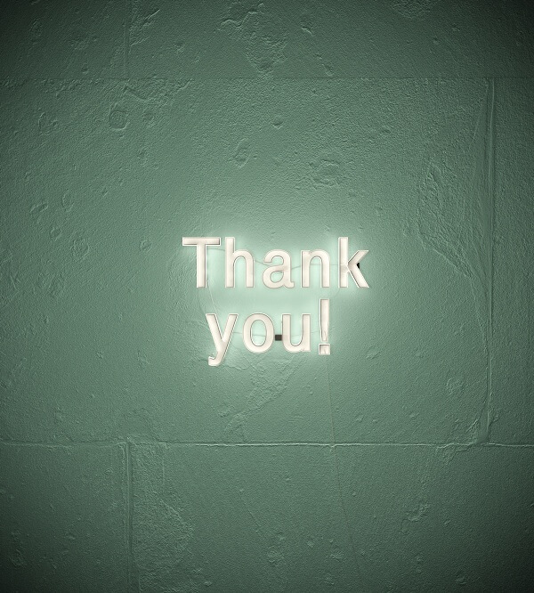 Thank You 3D Lighted Signs in Tampa, FL